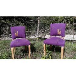 Chaises sous-bois